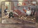 Viel Spaß bei den Ostervorbereitungen!    Antike Osterkarte mit einem Motiv von Arthur Thiele (1860-1936)