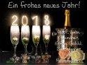 Ein frohes neues Jahr!  Glück, Liebe  Gesundheit,  Erfolg, Geduld,  Zufriedenheit  und  Freundschaft!    Dieses Kartenmotiv wurde am 28. Dezember 2017 neu in die Kategorie Silvester & Neujahrskarten aufgenommen.