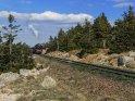Dampflok auf dem Brocken im Harz