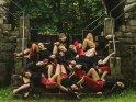 Schlafende Tänzerinnen (Jazz-Dance)