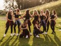 Hip-Hop-Tänzerinnen