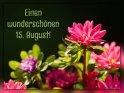 Einen wunderschönen 15. August!    Dieses Motiv ist am 15.08.2017 neu in die Kategorie Tageskarten August aufgenommen worden.