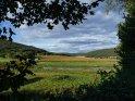 Blick von Niedersachsen nach Hessen durch das fr�hherbstlichen Wesertal    Dieses Motiv ist am 25.09.2016 neu in die Kategorie S�d-Niedersachsen aufgenommen worden.
