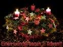 Einen wunderbaren 2. Advent!    Dieses Kartenmotiv ist seit dem 02. Dezember 2016 in der Kategorie Adventskarten.