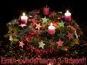 Einen wunderbaren 3. Advent!    Dieses Motiv ist am 09.12.2016 neu in die Kategorie Adventskarten aufgenommen worden.