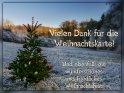Vielen Dank für die Weihnachtskarte!  Und ebenfalls ein wunderschönes und friedliches Weihnachtsfest!    Dieses Motiv finden Sie seit dem 18. Dezember 2016 in der Kategorie Danke.