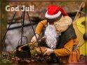 God Jul!    Dieses Kartenmotiv wurde am 22. Dezember 2016 neu in die Kategorie Weihnachtskarten (versch. Sprachen) aufgenommen.