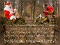 Ob nun Weihnachtsmann oder Wikinger, jeder braucht mal ne Pause. Also nicht wundern, falls es mit der Bescherung mal etwas länger dauert.  Fröhliche Weihnachten!    Dieses Motiv finden Sie seit dem 21. Dezember 2016 in der Kategorie Lustige Advents & Weihnachtskarten.
