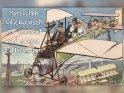 Herzlichen Glückwunsch zur Hochzeit und schöne Flitterwochen!    Antike Postkarte mit einem Motiv von Arthur Thiele (1860-1936)
