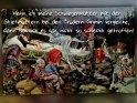 Wenn ich meine Schwiegermutter mit den Stiefmüttern bei den Brüdern Grimm vergleiche, dann hab ich es gar nicht so schlecht getroffen!  Antike Postkarte mit einem Motiv von Arthur Thiele (1860-1936)