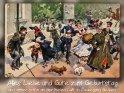Alles Liebe und Gute zum Geburtstag  und immer schön an der freien Luft in Bewegung bleiben!  Antike Postkarte mit einem Motiv von Arthur Thiele (1860-1936)