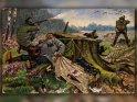 Antike Postkarte mit einem Motiv von Arthur Thiele (1860-1936)    Dieses Motiv ist am 23.10.2016 neu in die Kategorie Weitere antike Postkarten aufgenommen worden.
