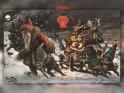 Fröhliche Weihnachten!  Antike Postkarte mit einem Motiv von Arthur Thiele (1860-1936)