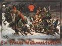 Ein frohes Weihnachtsfest!  Antike Postkarte mit einem Motiv von Arthur Thiele (1860-1936)