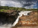 Alles Gute zum Geburtstag!  Ich hoffe, bei dir läuft alles gut!  Murchison Falls am Viktoria-Nil in Uganda