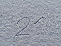 21    Dieses Motiv ist am 21.01.2017 neu in die Kategorie Zahlen aufgenommen worden.