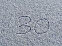 30    Dieses Motiv findet sich seit dem 30. Januar 2017 in der Kategorie Zahlen.