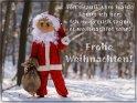 Von drauß´ vom Walde  komm ich her,  Ich muß euch sagen,  es weihnachtet sehr!  Frohe Weihnachten!    Dieses Motiv finden Sie seit dem 23. Dezember 2017 in der Kategorie Lustige Advents & Weihnachtskarten.