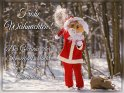 Frohe Weihnachten!  Der Gewinner der Schneeballschlacht bekommt die Geschenke!    Dieses Kartenmotiv wurde am 19. Dezember 2017 neu in die Kategorie Lustige Advents & Weihnachtskarten aufgenommen.