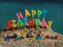 Happy Birthday    Dieses Motiv finden Sie seit dem 27. März 2017 in der Kategorie Geburtstagskarten aus Spanien.