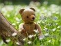 Alles Liebe und Gute zum Geburtstag!    Dieses Motiv finden Sie seit dem 01. Mai 2017 in der Kategorie Geburtstagskarten für Bärenfreunde.