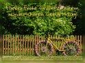 Farbenfrohe Grüße zu einem wunderschönen Geburtstag!    Dieses Motiv wurde am 29. Juni 2017 in die Kategorie Geburtstagskarten für Radfahrer eingefügt.