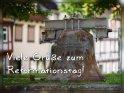 Viele Grüße zum Reformationstag!    Dieses Motiv finden Sie seit dem 24. Oktober 2017 in der Kategorie Reformationstag (31.10 in D&Ö).