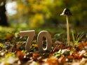 70    Dieses Motiv befindet sich seit dem 17. Oktober 2017 in der Kategorie Zahlen.