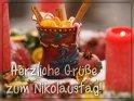 Herzliche Grüße zum Nikolaustag!    Dieses Motiv ist am 06.12.2017 neu in die Kategorie Nikolaustag aufgenommen worden.