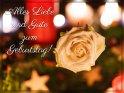 Alles Liebe und Gute zum Geburtstag!    Dieses Motiv ist am 15.12.2017 neu in die Kategorie Geburtstagskarten für Blumenliebhaber  aufgenommen worden.