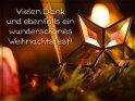 Vielen Dank und ebenfalls ein wunderschönes Weihnachtsfest!    Dieses Motiv finden Sie seit dem 24. Dezember 2017 in der Kategorie Danke.