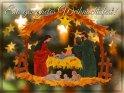 Ein gesegnetes Weihnachtsfest!    Dieses Motiv ist am 03.12.2018 neu in die Kategorie Religiöse Weihnachtskarten aufgenommen worden.