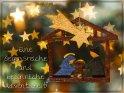 Eine segensreiche und besinnliche Adventszeit!    Dieses Motiv findet sich seit dem 29. November 2018 in der Kategorie Religiöse Weihnachtskarten.