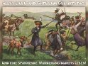 Alles Liebe und Gute zum Geburtstag!  Und eine spannende  Wanderung durchs Leben!    Antike Postkarte mit einem Motiv von Arthur Thiele (1860-1936)