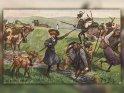 In großen Nöten  Und eine spannende  Wanderung durchs Leben!    Antike Postkarte mit einem Motiv von Arthur Thiele (1860-1936)    Dieses Motiv ist am 09.05.2017 neu in die Kategorie Weitere antike Postkarten aufgenommen worden.