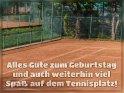 Alles Gute zum Geburtstag und auch weiterhin viel Spaß auf dem Tennisplatz!    Dieses Motiv ist am 24.11.2018 neu in die Kategorie Geburtstagskarten für Tennisfans und Tennisspieler aufgenommen worden.