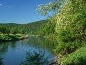 Die Werra in Hessen Ende Mai