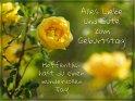 Alles Liebe und Gute zum Geburtstag!  Hoffentlich hast du einen wundervollen Tag!    Dieses Kartenmotiv wurde am 29. Mai 2018 neu in die Kategorie Geburtstagskarten für Blumenliebhaber  aufgenommen.