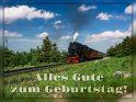 Alles Gute zum Geburtstag!    Dieses Motiv ist am 18.06.2018 neu in die Kategorie Geburtstagskarten für Eisenbahner aufgenommen worden.