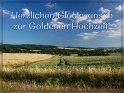 Herzlichen Glückwunsch zur Goldenen Hochzeit!    Dieses Motiv ist am 21.05.2019 neu in die Kategorie Goldene Hochzeit (50) aufgenommen worden.