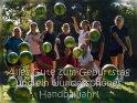Alles Gute zum Geburtstag und ein wunderschönes Handballjahr!    Dieses Motiv finden Sie seit dem 26. November 2018 in der Kategorie Geburtstagskarten für Sportler.