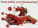 Viele Grüße zum Nikolaustag!    Dieses Motiv ist am 05.12.2018 neu in die Kategorie Nikolaustag aufgenommen worden.