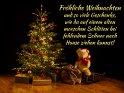 Fröhliche Weihnachten  und so viele Geschenke, wie du auf einem alten morschen Schlitten bei fehlendem Schnee nach Hause ziehen kannst!    Dieses Motiv findet sich seit dem 24. Dezember 2018 in der Kategorie Lustige Advents & Weihnachtskarten.