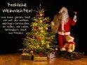 Fröhliche Weihnachten!  Und einen ganzen Sack voll mit den wirklich wichtigen Geschenken im Leben, wie Liebe, Gesundheit, Glück und Frieden!    Dieses Motiv ist am 18.12.2018 neu in die Kategorie Weihnachtskarten aufgenommen worden.