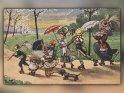 Antike Postkarte mit einem Motiv von Arthur Thiele (1860-1936)    Dieses Motiv ist am 22.02.2018 neu in die Kategorie Weitere antike Postkarten aufgenommen worden.