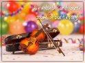 Alles Liebe und Gute zum Geburtstag!    Dieses Motiv ist am 17.02.2019 neu in die Kategorie Geburtstagskarten für Musikfreunde aufgenommen worden.