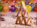 Alles Liebe und Gute zum Geburtstag!    Dieses Motiv findet sich seit dem 31. Mai 2019 in der Kategorie Geburtstagskarten für Glücks-, Gesellschafts- & Kartenspieler.