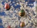 Trotz der Umstände ein schönes und gesundes Osterfest und ausreichend viel Durchhaltevermögen für den Rest des Weges!    Dieses Motiv findet sich seit dem 27. März 2021 in der Kategorie Osterkarten für schwierige Zeiten.