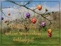 Fröhliche Ostern und eine wunderschöne Frühlingszeit!    Dieses Motiv ist am 16.04.2019 neu in die Kategorie Osterkarten aufgenommen worden.