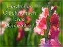 Herzlichen Glückwunsch zum Geburtstag!    Dieses Motiv befindet sich seit dem 03. August 2019 in der Kategorie Geburtstagskarten für Blumenliebhaber .
